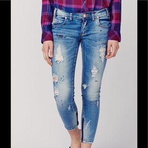 One Teaspoon Jeans - ONE TEASPOON FREEBIRD 2 BLUE BLONDE REVOLVE DOLLS